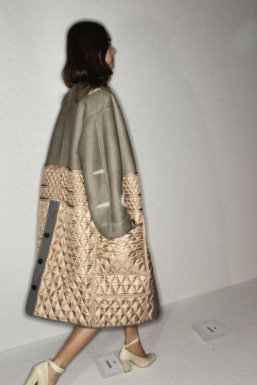 hot-couture: Sonny Vandevelde backstage Chloe Fall/Winter 2012, Paris Fashion Week.