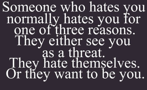 Hate is such an ugly word!