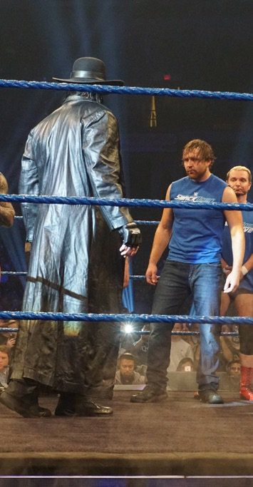 Dean Ambrose & The Undertaker