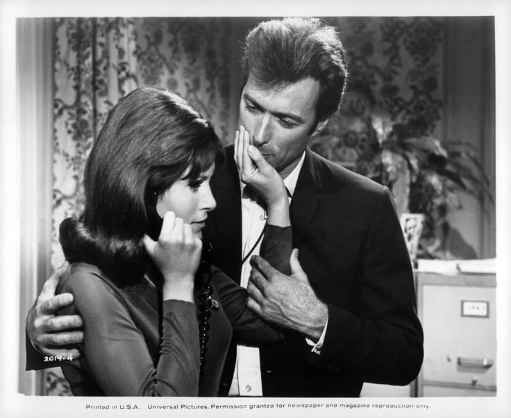 Clint Eastwood and Susan Clark in Coogan's Bluff (1968)