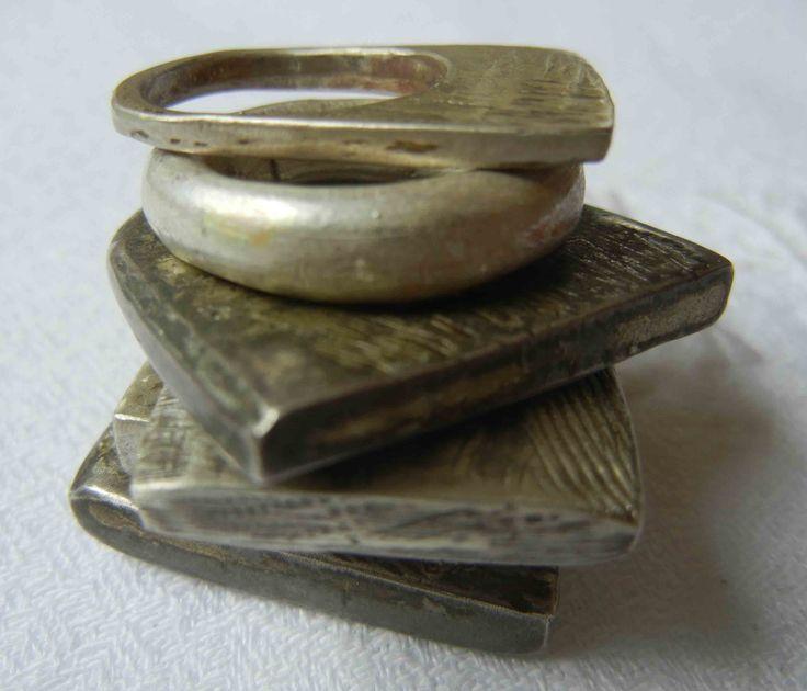 rings - sterling silver