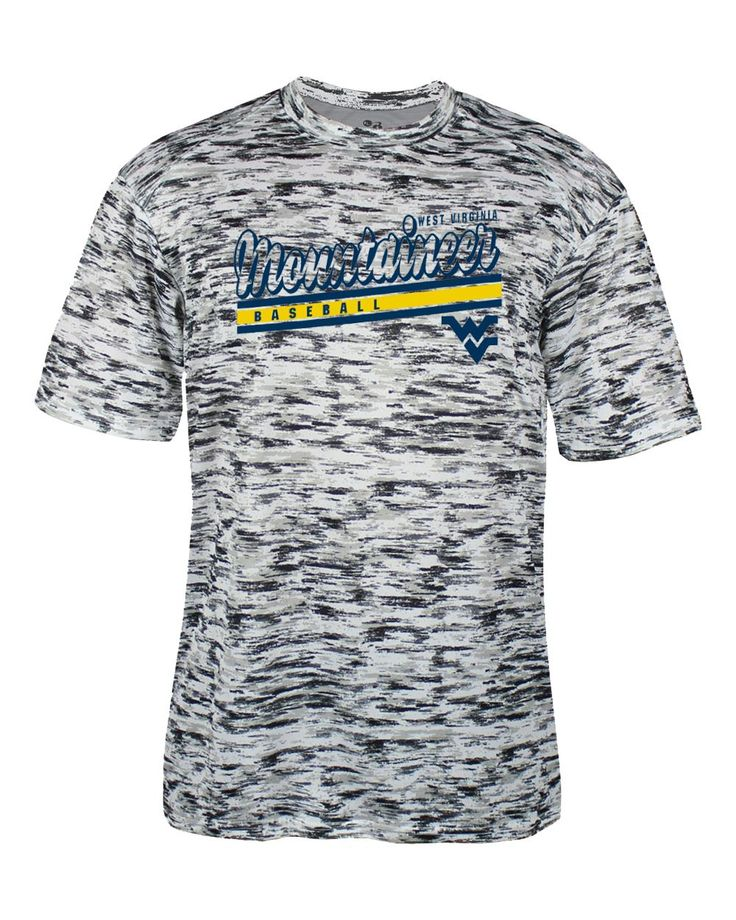 Your youngster will love cheering for the WVU Baseball team in this static sublimated performance tee.  So head out to the Monongalia County Ballpark  to enjoy some Big XII Baseball!