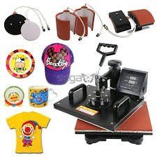 Hot deal for combo heat press machine 8 in 1. Nairobi CBD • olx.co.ke