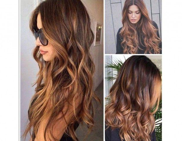 I capelli tiger eye sono la tendenza del momento, un mix di biondo e castano e riflessi color miele. Photo credits: Instagram @blowdrybta