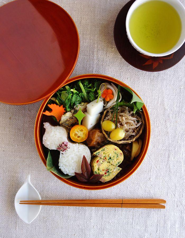 日本人のごはん/お弁当 Japanese meals/Bento 和風お弁当 Sunday lunch in the box