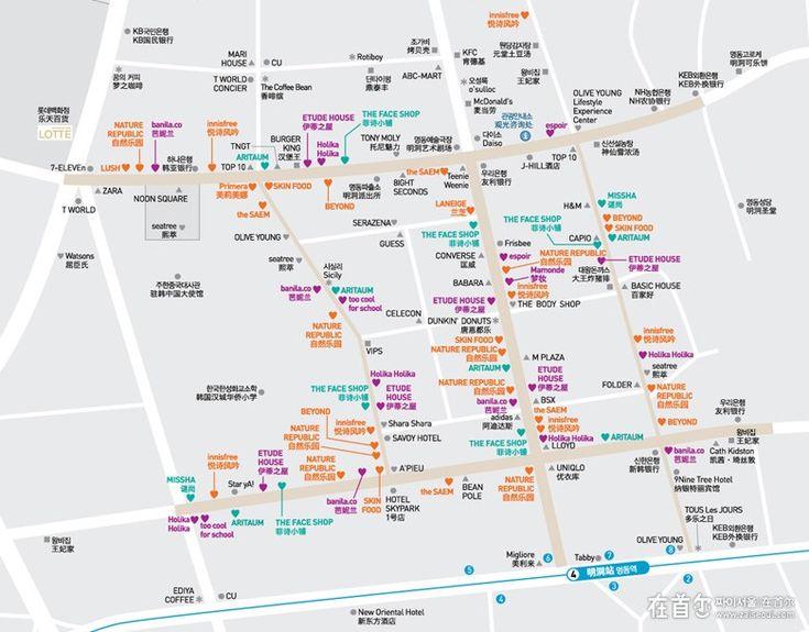 2014版明洞韩妆购物攻略_韩国热门旅游景点推荐_韩国自由行攻略_在首尔旅游网