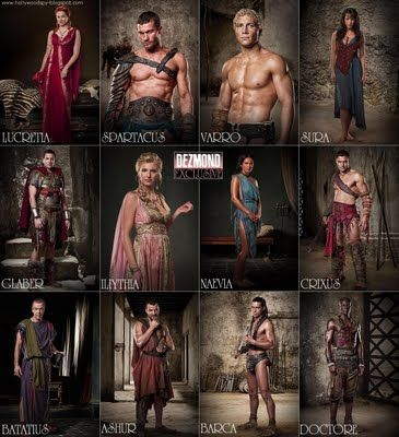 Spartacus+Characters