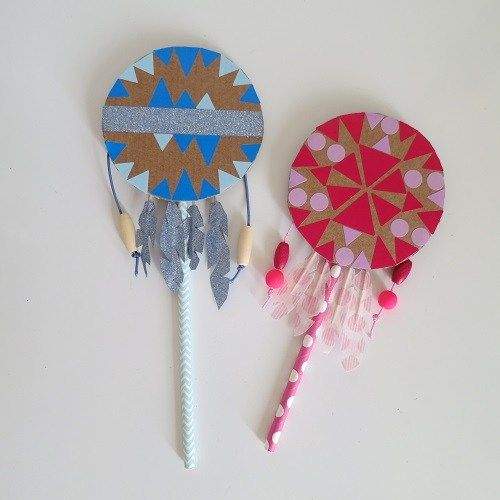 19.Indian Spirit, le tambourin