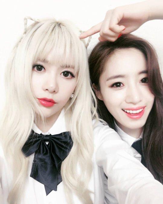 T-ARA - Qri + Eunjung