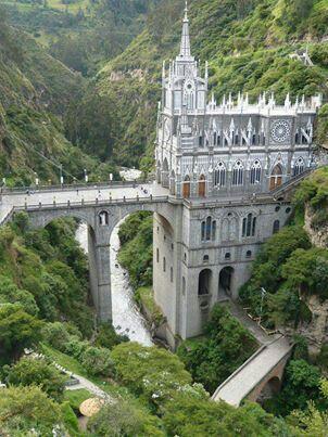 Las Lajas Cathedral, Colombia ❤