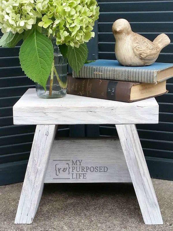 12 diy step stool designs you can make diy projects bob vila s rh pinterest com
