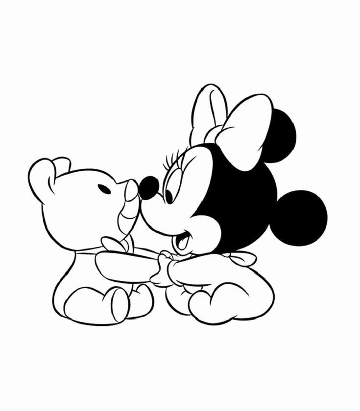 Baby Minnie Mouse Printable Coloring Pages Minnie Mouse Coloring Pages Mickey Mouse Coloring Pages Disney Coloring Pages