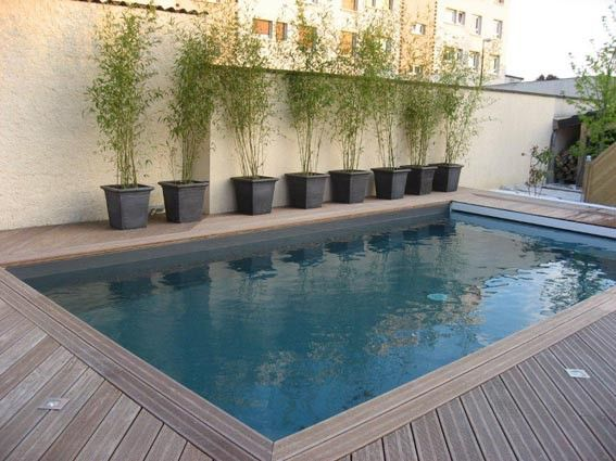 Couleur d 39 eau liner gris anthracite piscines pr tes for Liner de piscine couleur
