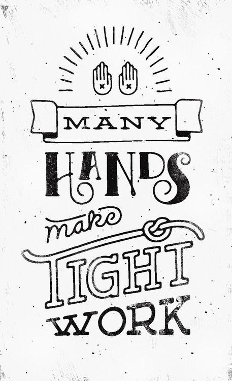 Hand Drawn Typography.