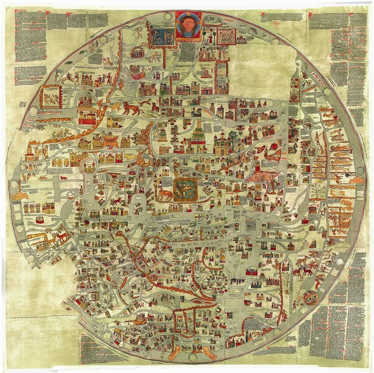 Map Of Germany With Cities%0A The Ebstorf Map  an example of mappa mundi  a Medieval European map of the  world   It was made by Gervase of Ebstorf in the century by DOMUS
