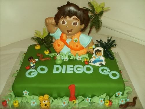 Best Go Diego Go Party Ideas Images On Pinterest Birthday - Go diego go birthday cake