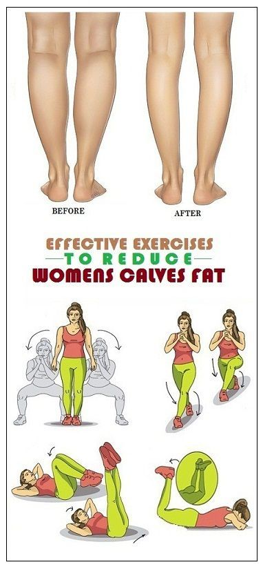 9 Simple Exercises To Reduce Women s Calves Fat
