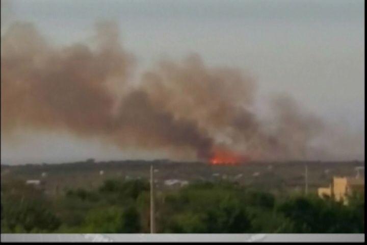 Incendio Forestal En Montecristi Consumió Parte De La Vegetación De San Fernando