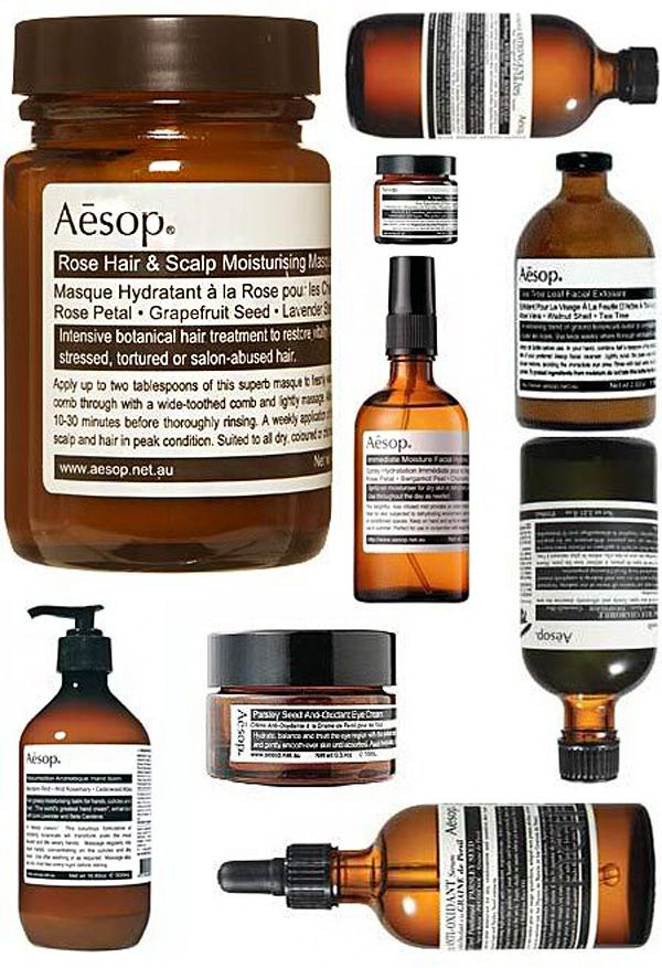 Love Aesop. I use it a lot. Love the branding and the apothecary look.