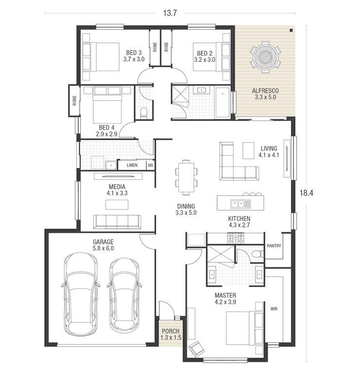 Maddison 24 plan ausbuild · home designnew homeshome