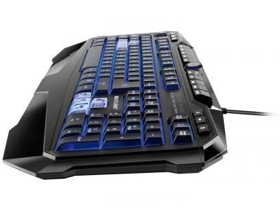Teclado Multimídia Profissional USB - Multilaser Warrior Gamer com as melhores condições você encontra no Magazine Siarra. Confira!