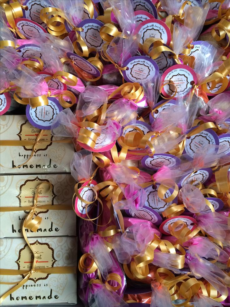 Chocolate giveaways individual colourful fun #sweetremembrances