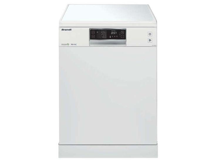 Lave vaisselle 15 couverts BRANDT DFH15532W pas cher prix promo Lave Vaisselle Conforama 399.99 € TTC au lieu de 649.99 €
