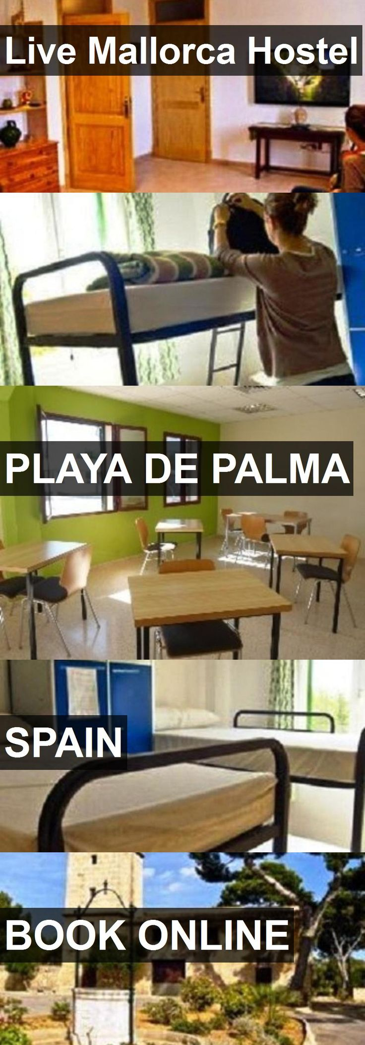 Hotel Live Mallorca Hostel in Playa de Palma, Spain. For more information, photos, reviews and best prices please follow the link. #Spain #PlayadePalma #hotel #travel #vacation