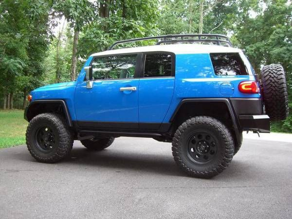 2007 VooDoo Blue  6 Lift  35 Tires  Toyota FJ Cruiser Forum