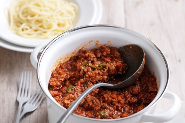 For a slow-cooked spaghetti bolognaise that's big on flavour, look no further than this tasty version by Super Food Ideas Best Spag Bol finalist, Annette Ryan.