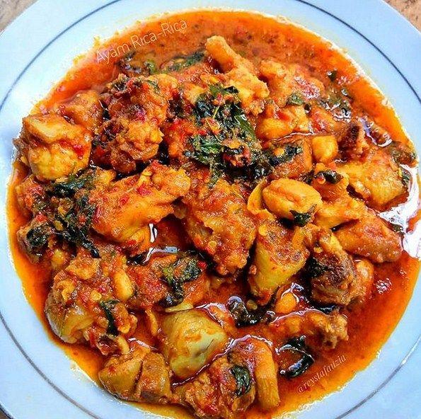 Resep Ayam Rica Rica Baca Resep Resep Ayam Resep Makan Malam Sehat Resep Sayap Ayam