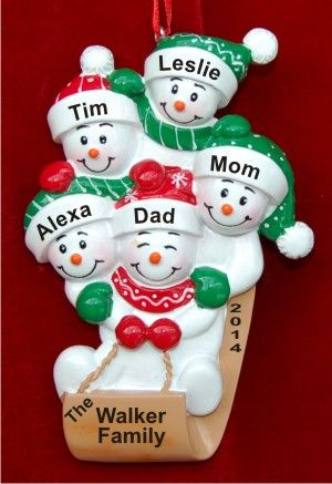 The 25 best Personalized family ornaments ideas on Pinterest