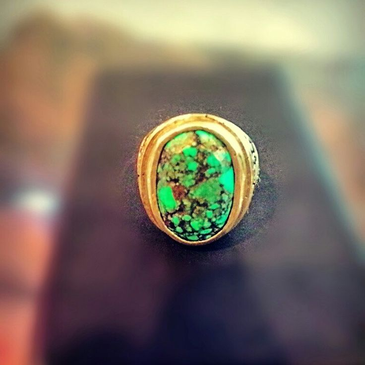 Very Old Turqoise Gold Viber #turqoise #turqoisegoldviber #gems #gemsstone