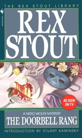 2012.03.16 - Reread while eating.: Rex Stout, Black Wolf, Wolf Mystery, Range Nero, Archie, Books Worth, Wolf Books, Wolf Series, Doorbell Range