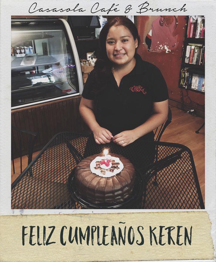 Feliz cumpleaños a nuestra compañera de trabajo! #Casasolacafe #Cabo