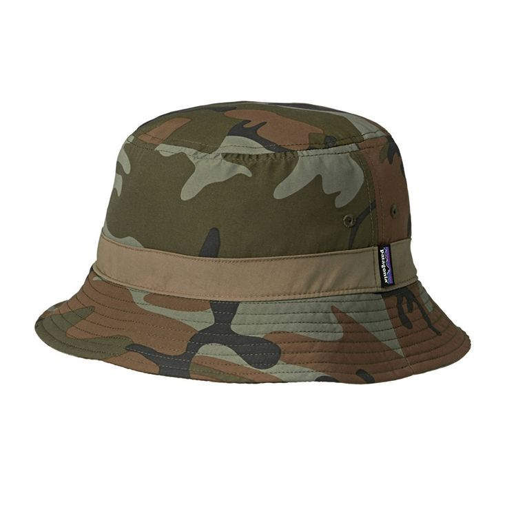 Amazon | (パタゴニア)patagonia Wavefarer Bucket Hat 29155 FCMH Forest Camo: Hickory//Brown L | 帽子 通販