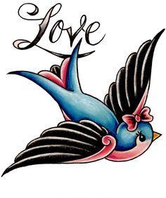 rockabilly bird - Google Search