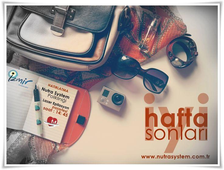 NUTRA SYSTEM | İYİ HAFTA SONLARI  #nutrasystem #çeşme #bodrum #alaçatı #ılıca #kuşadası #urla #foça #izmir  http://www.nutrasystem.com.tr/