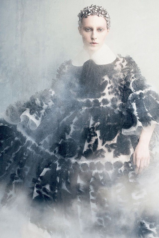 TALES OF MAGIC AND INNOCENCE September 2014 issue of Vogue Japan. Alexander McQueen