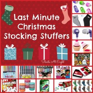 Last Minute Christmas Stocking Stuffers - StartsAtEight