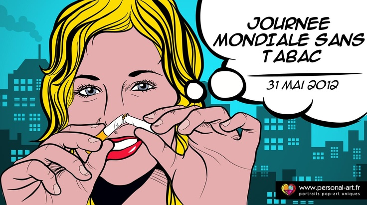 Journee Mondiale sans Tabac  31 Mai 2012  par www.personal-art.fr