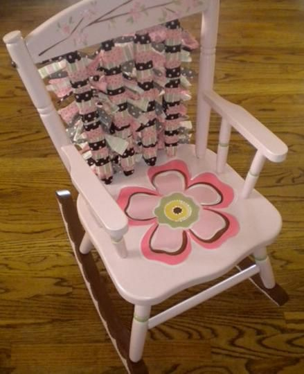 Custom Rocking Chairs for Children's Rooms by Bloom Creative Studio | Hatch.co