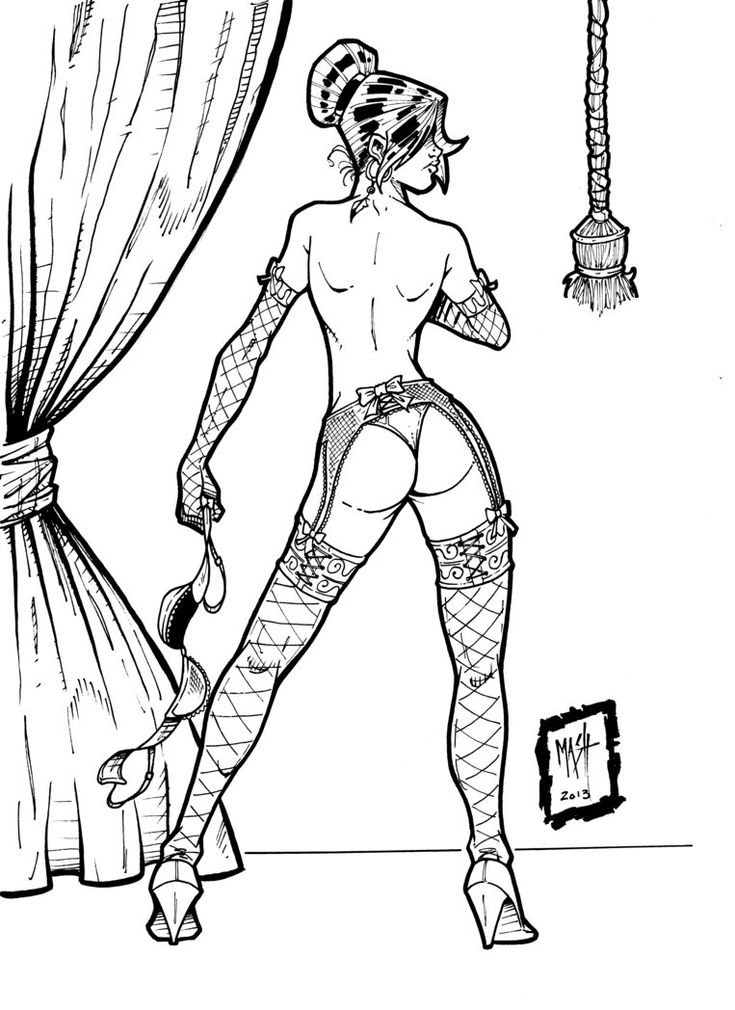 Final, Sexy coloring pages for adults
