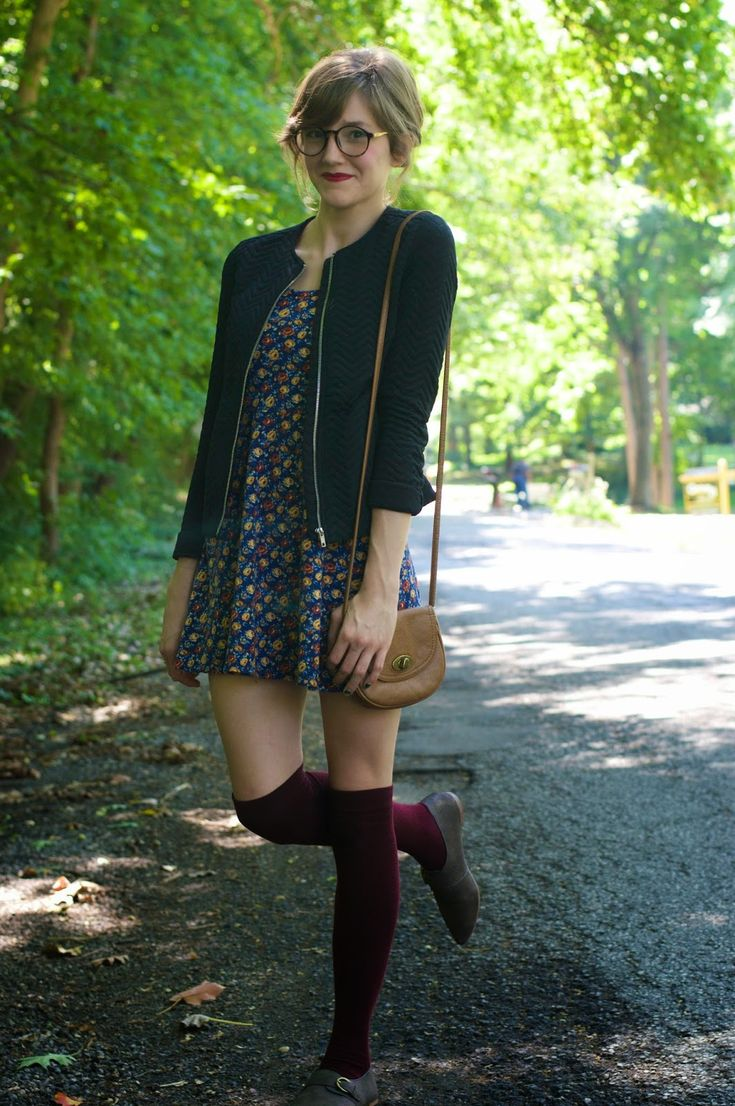 Knee highs and oxfords = a personal favorite :)