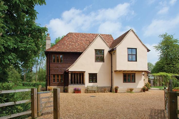 The Searles' characterful eco self build is inspired by Scandinavian low-energy design, but it's bursting with traditional style. Check it out: http://www.self-build.co.uk/low-energy-vernacular-home