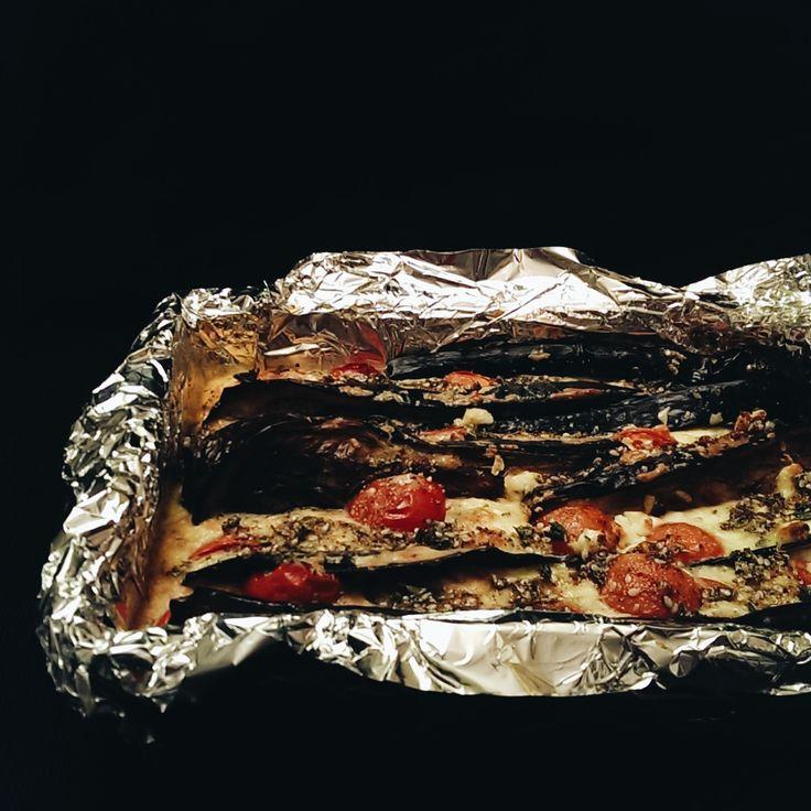 aubergine cheesecake | www.tincansandwoodenspoons.com