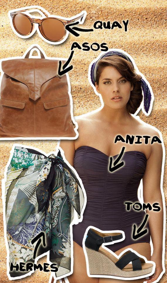 Il coach moda di Melarossa ti suggerisce 4 abbinamenti facili per indossare con stile il tuo costume intero.