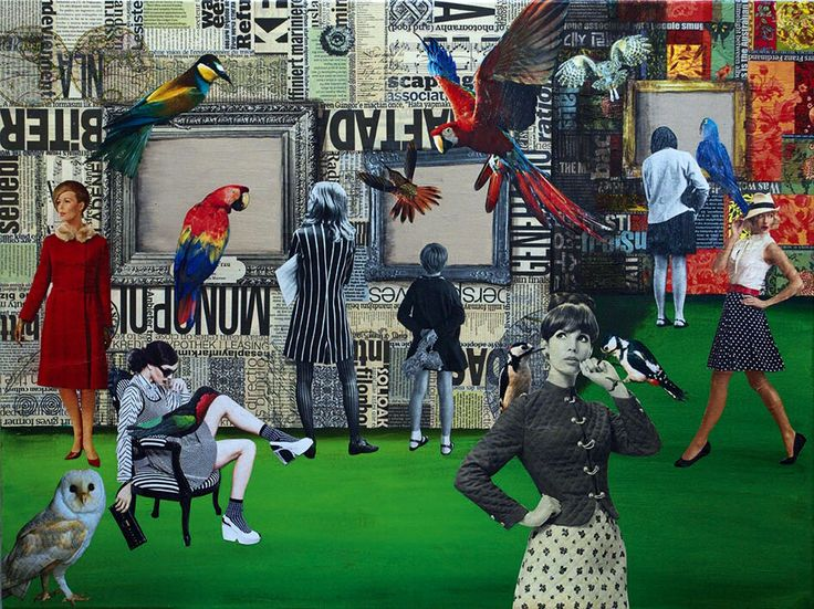 Collage Lorena Córdova - Museo