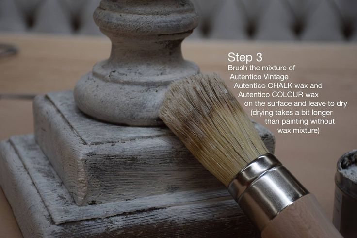Autentico Quick-fix step 3. An easy way to make a beautiful patina.