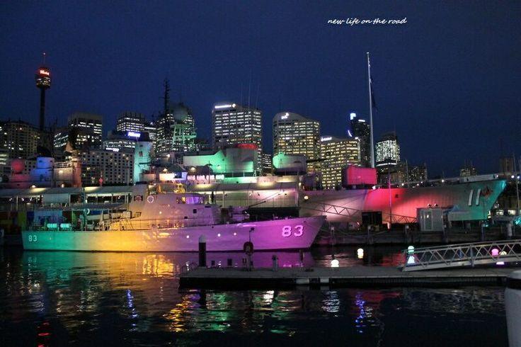 Naval ship at Darling Harbour!